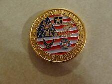 CHALLENGE COIN MILITARY WARRIORS SUPPORT FOUNDATION HEROES NATIONAL FIRM LLC