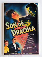 Son of Dracula FRIDGE MAGNET (2.5 x 3.5 inches) movie poster lon chaney