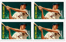 US 4694 Major League Baseball Ted Williams forever block MNH 2012