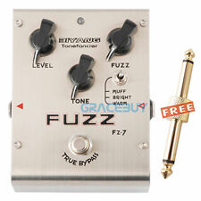 Biyang Tonefancier FZ-7 Guitar Bass Effect Pedal Fuzz Distortion True Bypass New
