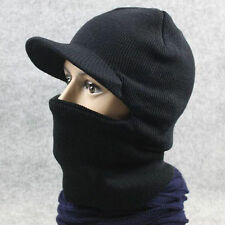 Thermal FLEECE BALACLAVA HOOD POLICE Cap Winter SKI MASK Hat Scarf Neck US Stock