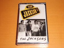 "THE JACKSONS ""2300 JACKSON ST"" CASSETTE TAPE SPAIN RARE! NEW! MICHAEL JACKSON"