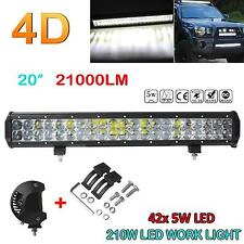 21000LM 210W 20 Inch OSRAM Led Bar Combo Beam Work Light Off-Road Driving Lamp