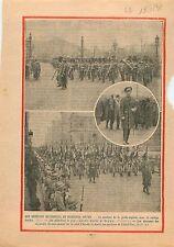 Obsèques Nationales du Maréchal Joffre English Royal Guard 1931 ILLUSTRATION