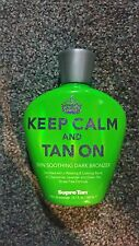 Supre Keep Calm and Tan On Skin Soothing Bronzer Tanning Lotion +FREEBIE
