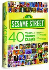 Sesame Street: 40 Years of Sunny Days [2 Discs] (2009, DVD NEW)2 DISC SET