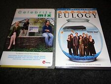 CELEBRITY MIX & EULOGY-2 dvds-Collection of short stories-ZOOEY DESCHANEL,comedy