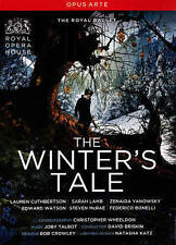 The Winter's Tale Royal Opera House (The Royal Ballet) DVD 2015 *Extra Features*