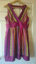 Pretty Warehouse Women's Silk Dress Size 16