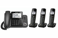 PANASONIC KX-TGF350M DECT 6.0 Digital Cordless Answering System with 3 Handset