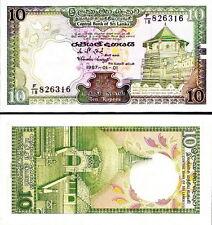 SRI LANKA - 10 rupees 1987 FDS - UNC