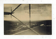Mint France Monnerville Airplane  In FLight Real Picture RPPC Postcard H Farman