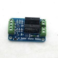 2 Channel 5V Solid State Relay 2A For Arduino UNO MEGA 2560 R3  AVR Raspberry PI