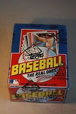 1982 Topps Baseball Wax Box 36 Packs Mint Unopened BBCE Wrapped Authentic PSA ?