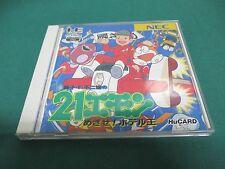 PC Engine Hu CARD -- 21 EMON -- JAPAN GAME Clean & Work fully!! 14667