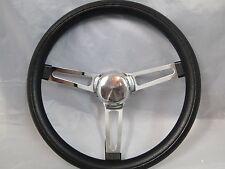 74-94 CHEVY GM TRUCK C-10 S-10 SUBURBAN BLAZER JIMMY STEERING WHEEL BLACK 13.5""