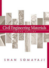 Civil Engineering Materials by Shan Somayaji (Hardback, 2000)