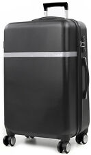 """Calvin Klein Harrison Collection 22"""" Hardside Spinner Carry On Luggage - Black"""