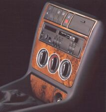AUDI A4 B5 (upto 99) WOOD LOOK DASH KIT WALNUT by INPRO GERMANY STICK ON 3pce
