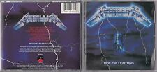Metallica - Ride the Lightning  (CD, Jul-1987, Elektra (Label)) VENTURES