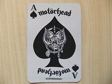Aufnäher - Patch - Motörhead - Ace Of Spades Card - Iron Maiden