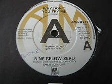 "NINE BELOW ZERO...WHY DON'T YOU TRY ME...MINTY PROMO 7"" 45RPM SINGLE...ALT BLUES"