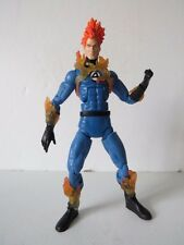 "Marvel legends classic color 2 pack series Human Torch 6"" action figure"