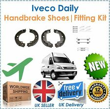 Iveco Daily 29L 35C 35S 50C 65C Rear Handbrake Shoes & Shoe Fitting Kit NEW OEQ!