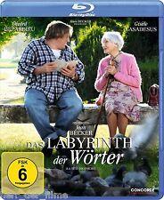 DAS LABYRINTH DER WÖRTER (Gerard Depardieu, Gisele Casadesus) Blu-ray Disc OVP