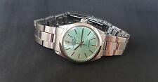 RARE VINTAGE ROLEX OYSTER PERPETUAL AIR-KING GREEN DIAL AUTO MAN'S WATCH