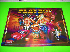 PLAYBOY By Stern 2002 ORIGINAL NOS Pinball Machine TRANSLITE Backglass Art Sheet