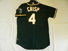 Majestic AUTHENTIC, 40 MEDIUM, OAKLAND A'S, COCO CRISP, GREEN, COOL BASE Jersey