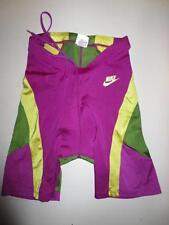 Cuissard NIKE triathlon nylon short cycling made in UK violet L