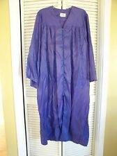 Purple Jostens Laurel School Graduation Promotion Judge Costume Robe Gown USA