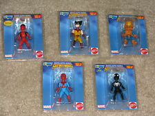 Marvel Secret Wars Micro Bobble Set Spider-Man Hobgoblin Deadpool Gentle Giant