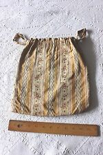 Antique 19thC French Silk Brocaded Purse, Copy Of 18thC~Women's Clothing
