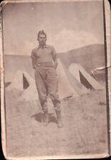 FOTO MILITARI REGIO ESERCITO IN ACCAMPAMENTO TENDE 1930 CIRCA 2-38