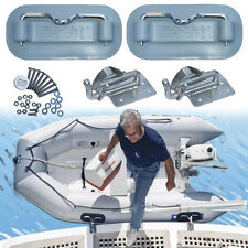 Boat Davits RBD100 for inflatable dinghies,go on swim platform, by Weaver Marine