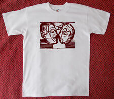 Ernst Ludwig Kirchner's 'Two Heads Looking at Each Other' T-Shirt