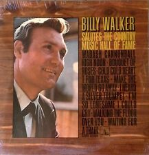 BILLY WALKER - SALUTES THE COUNTRY MUSIC HALL OF FAME - MONUMENT LP - SEALED