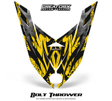 SKI-DOO REV XP SNOWMOBILE HOOD GRAPHICS KIT CREATORX DECALS BTY