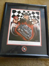 """NASCAR print-DALE EARNHARDT """"Forever the Champion"""" Limited Edition-Artist Signed"""