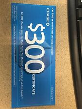 Chase Bank $300 checking Certificate