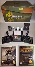 NEW XBOX Steel Battalion Game, Controller Bundle Lot w 2nd Game & Strategy Guide