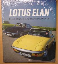 Lotus Elan Die britische Sportwagenlegende Cabrio Coupé Modelle Typen Buch Book