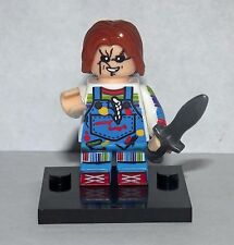 Chucky Doll Minifigure Horror movie Custom toy figure Child's Play