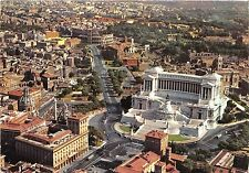 B33731 Roma Venice Square and the Coliseum Air view   italy