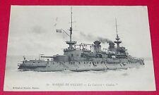 CPA 1915 MARINE FRANCE Cuirassé LE GAULOIS CARTE POSTALE MILITARIA
