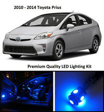 2010 - 2015 Toyota Prius Premium Blue LED Interior Package (10 Pieces)