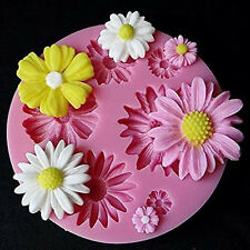 3D Flower Silicone Mold Fondant Cake Decorating Chocolate Sugarcraft Mould A++